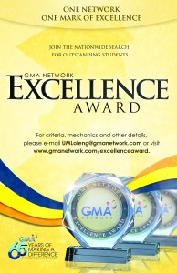 GMA Network Excellence Award